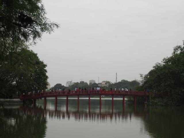 Mộc góc Hồ Gươm
