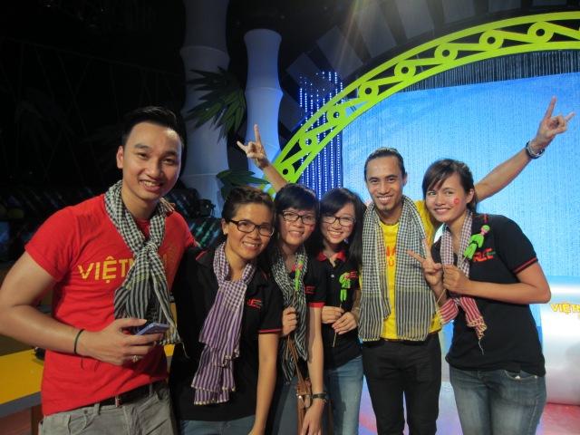 Cùng với đội trưởng MC Thành Trung và Ca sĩ  Anh Khoa