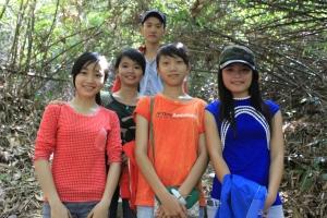 Một nhóm học sinh tình cờ gặp