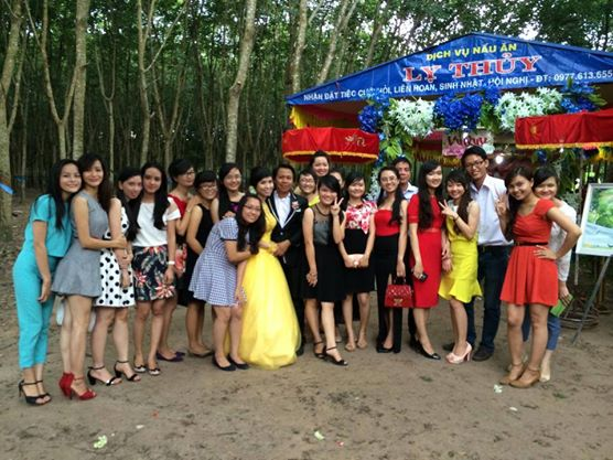 Lớp cấp 3 của 2014